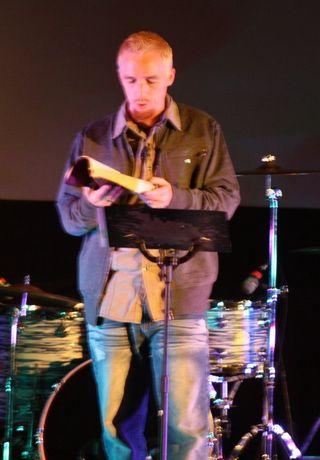 Bryan preaching