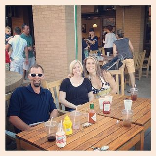 Heather jim and kelly at central market